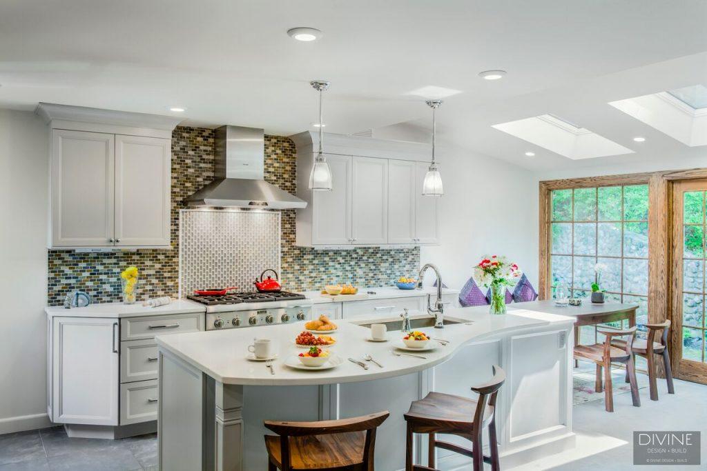 divine design build - kitchen renovation newton ma