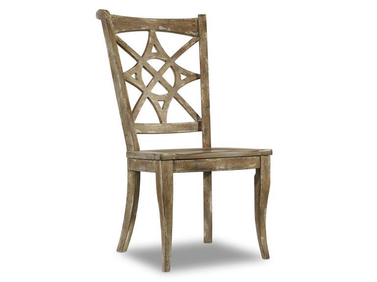 hooker furniture melange dining chair - coastal new england interior design