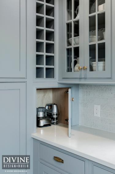 wine storage in the kitchen ideas