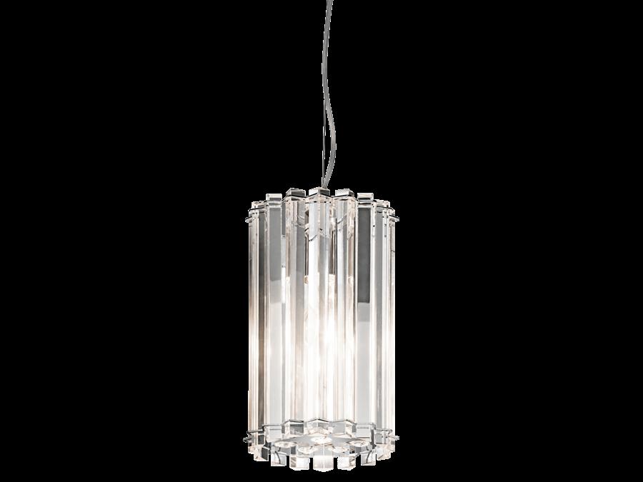 Crystal skye 1 light mini pendant