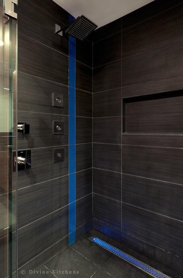 shower drain light
