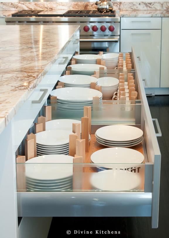 kitchen organization ideas - houzz