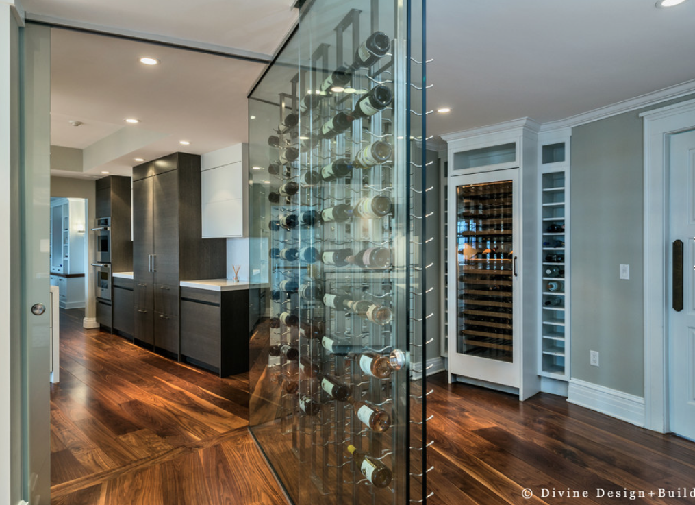 wine storage without a wine cellar