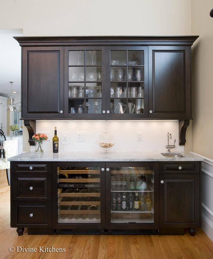 Wet Bar Design in the Kitchen — Divine Design+Build