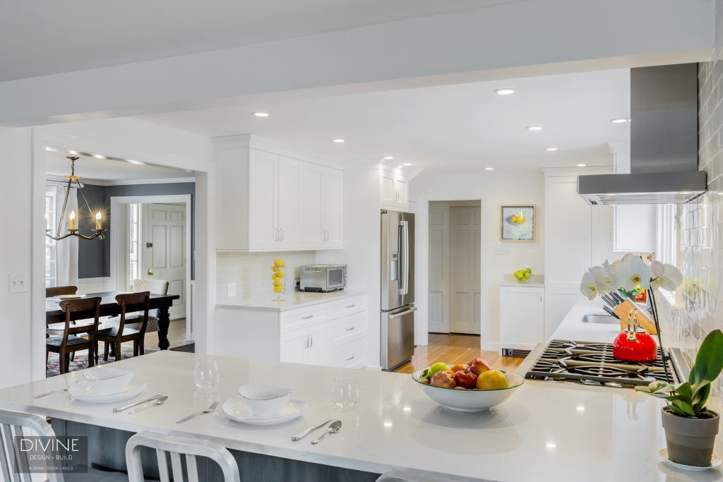 upscale kitchen countertop