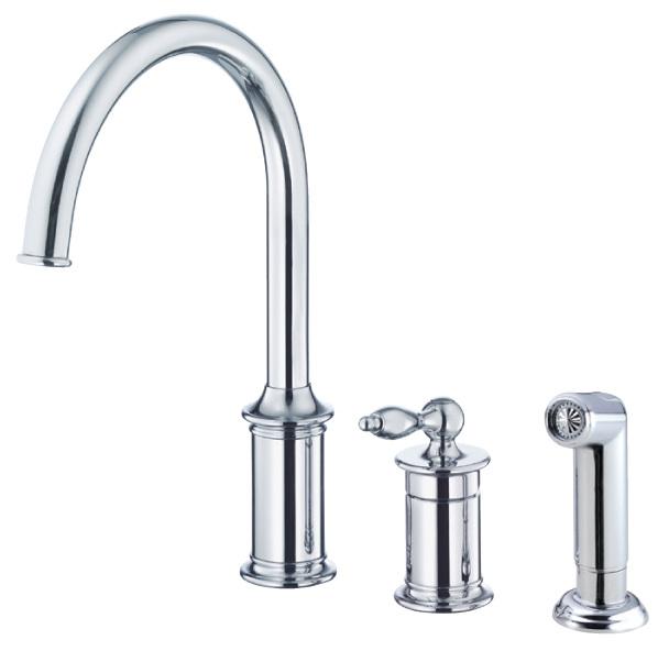 stylish kitchen faucet - danze prince faucet