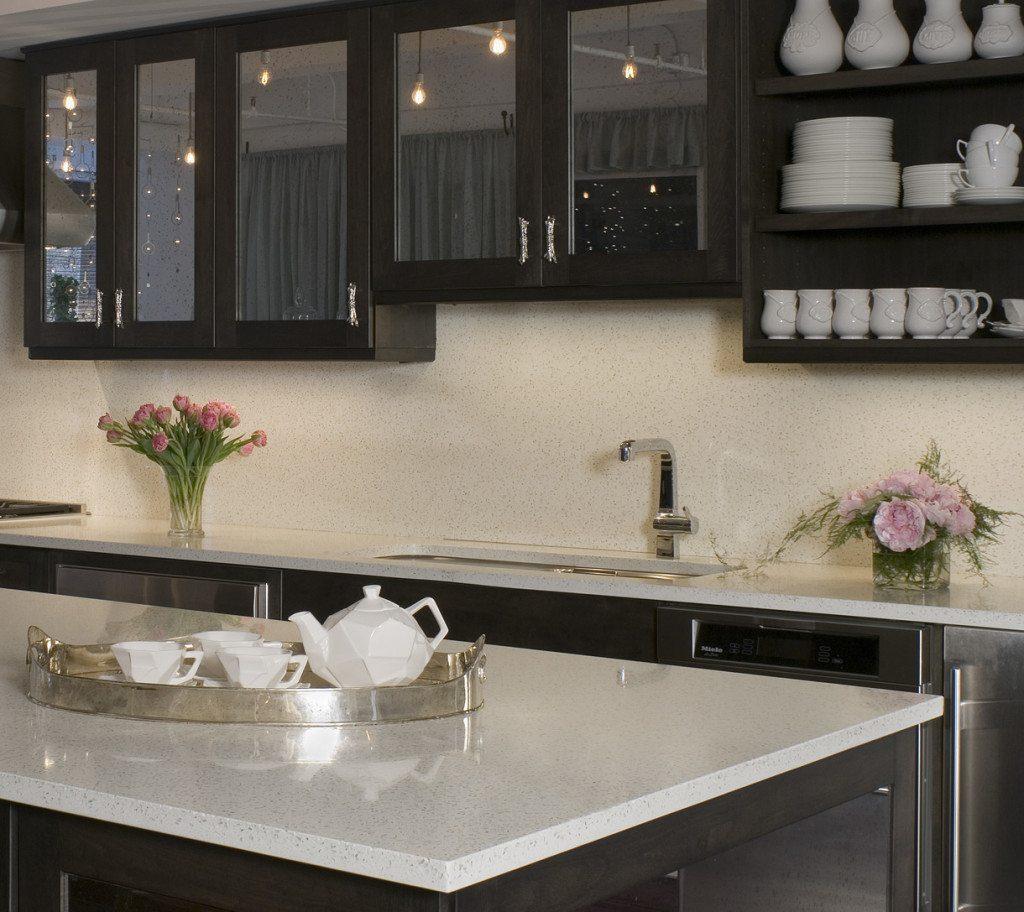 eco-friendly kitchen design - icestone
