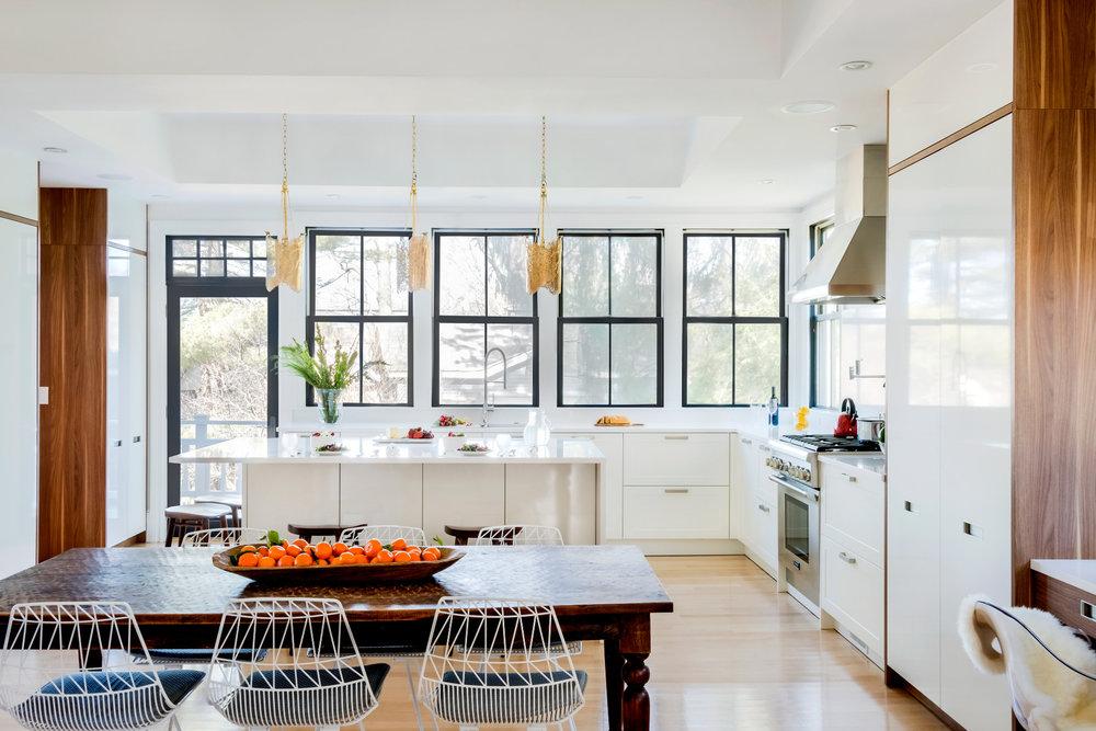 Boston Newton Transitional European Leicht Kitchen Divine Design Build