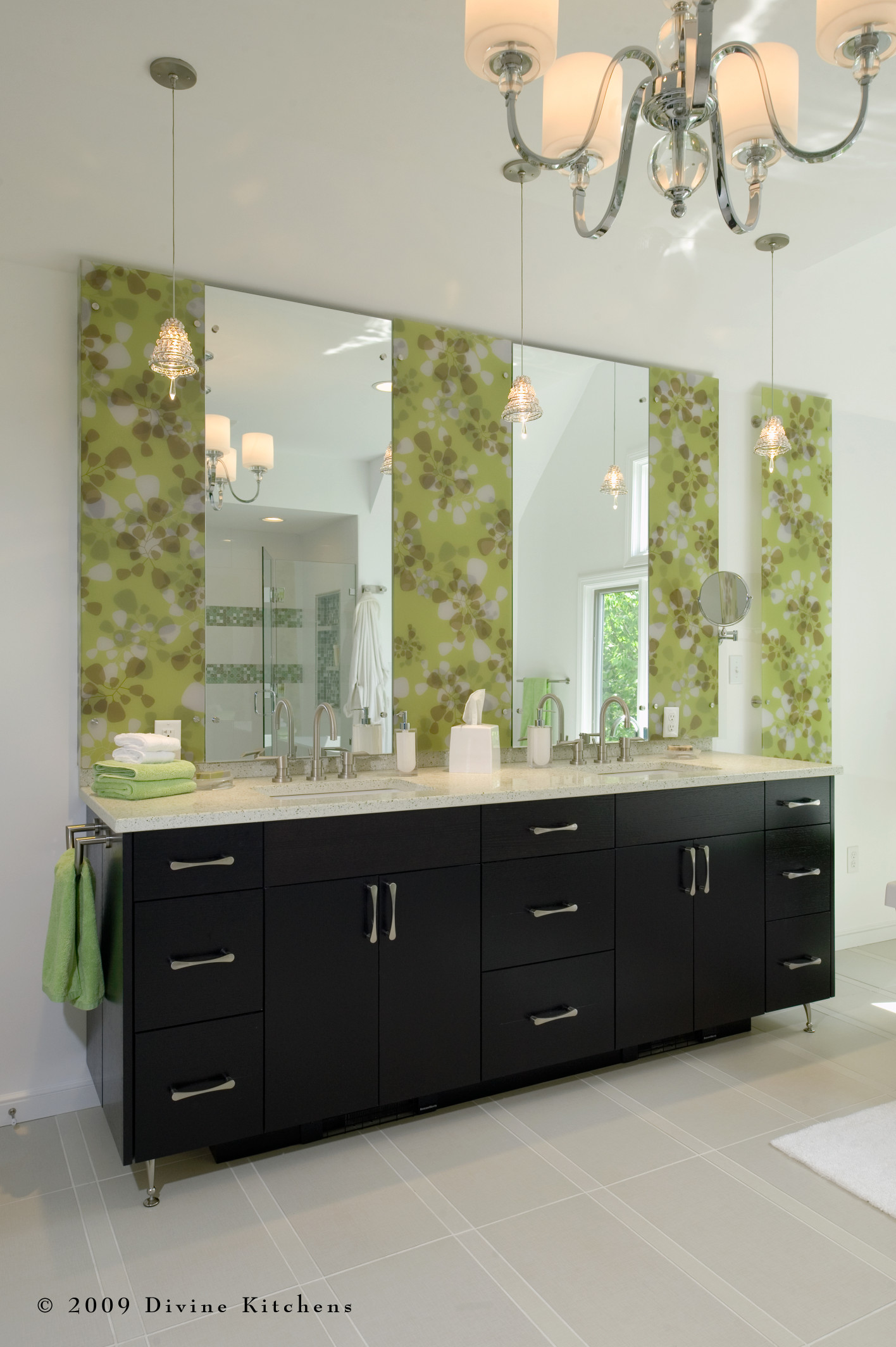 Boston Modern Transitional Colorful Master Bathroom Suite Addition Divine Design Build