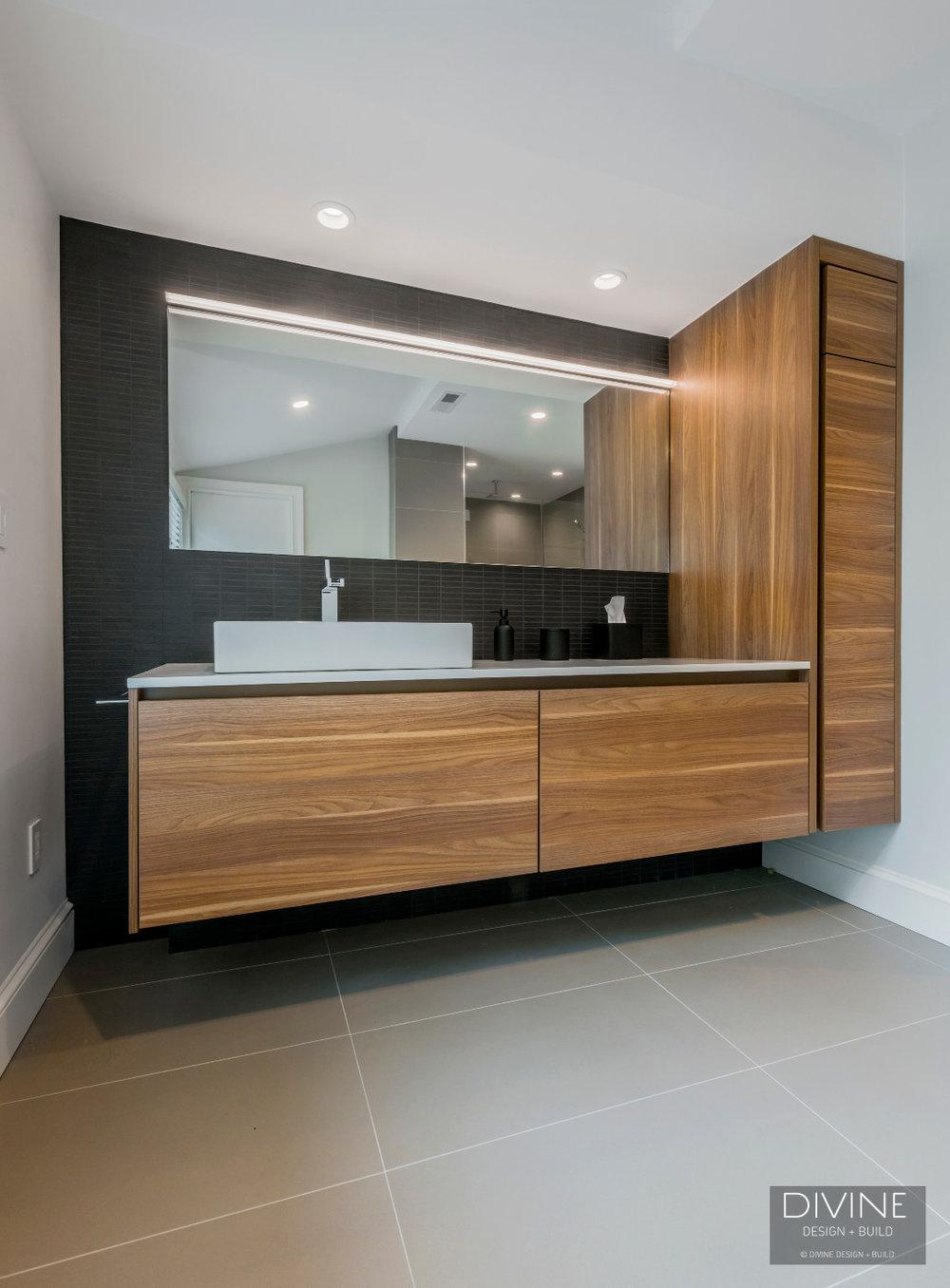 Boston Concord Contemporary Modern Leicht Master Bathroom Suite Divine Design Build