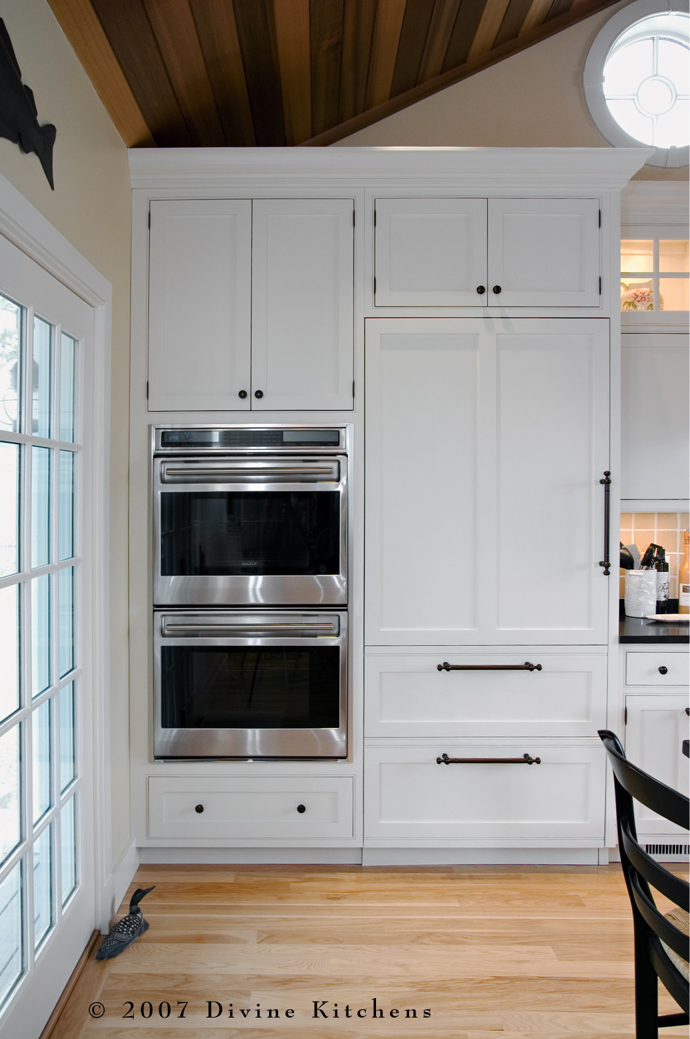 Cape Cod Transitional Traditional Kitchen Beadboard Ceiling
