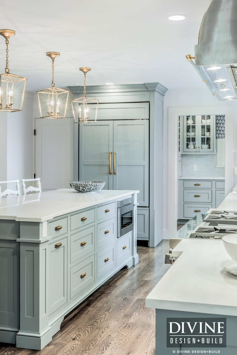 Cape Cod Traditional Kitchens with Gold Copper Accents ...