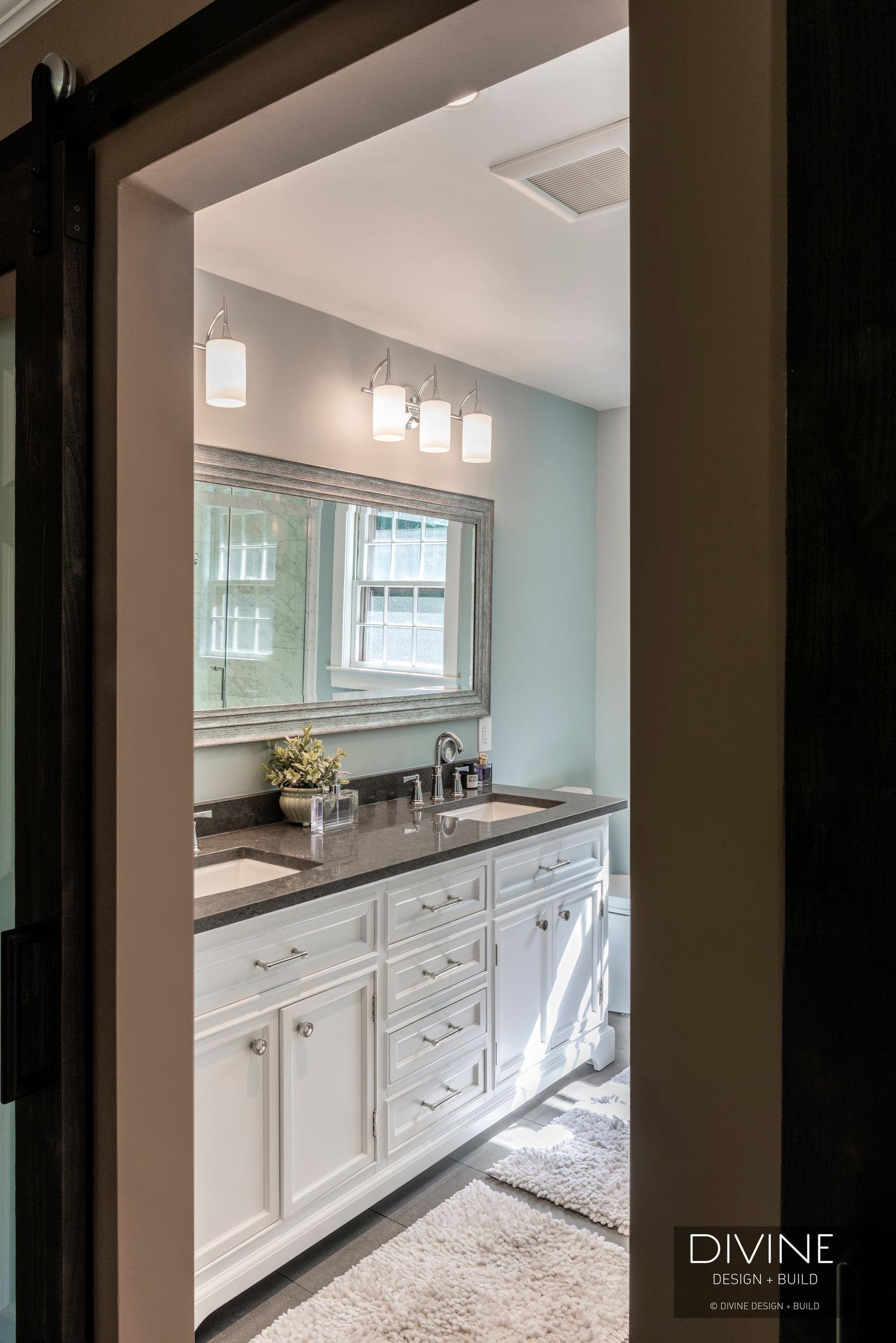 Boston Dover Transitional Master Bathroom Barn Doors Divine Design Build,Define Intelligent Design