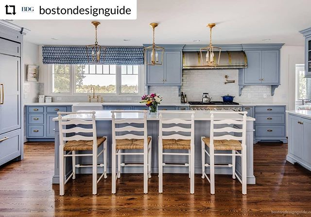 We have to thank @bostondesignguide for giving us a shout out! . . . #interiordesign #traditionalkitchens #designbuild @BannonBuilds @katierosenfeld