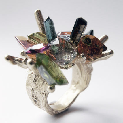'Precious Fluke II', 18ct gold, mix of precious stones.jpg