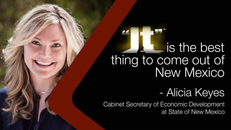 """Cabinet Secretary for State of New Mexico Economic Development Alicia Keyes """"It""""s"""" the best thing to come out of New Mexico.jpg"""