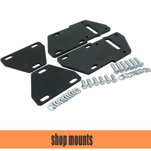 S10 V8 Conversion/V8 Swap Mounts   S10V8 Conversion Mounts for 2WD, 4WD and LSX. We also have replacement 2.8 rubber frame mounts, polyurethane frame mounts and solid frame mounts.
