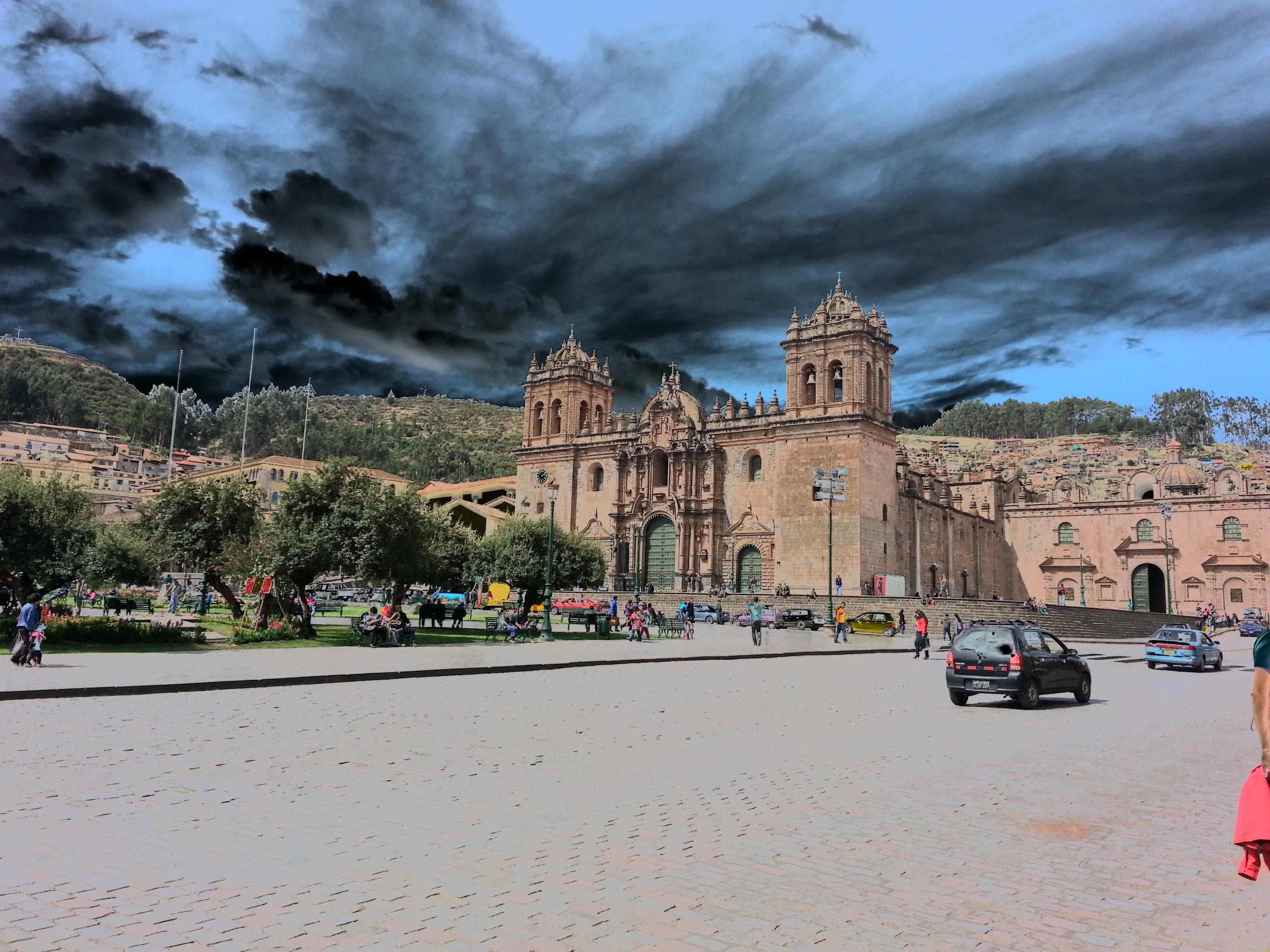 Cusco Plaza Mayor, Peru, 2014