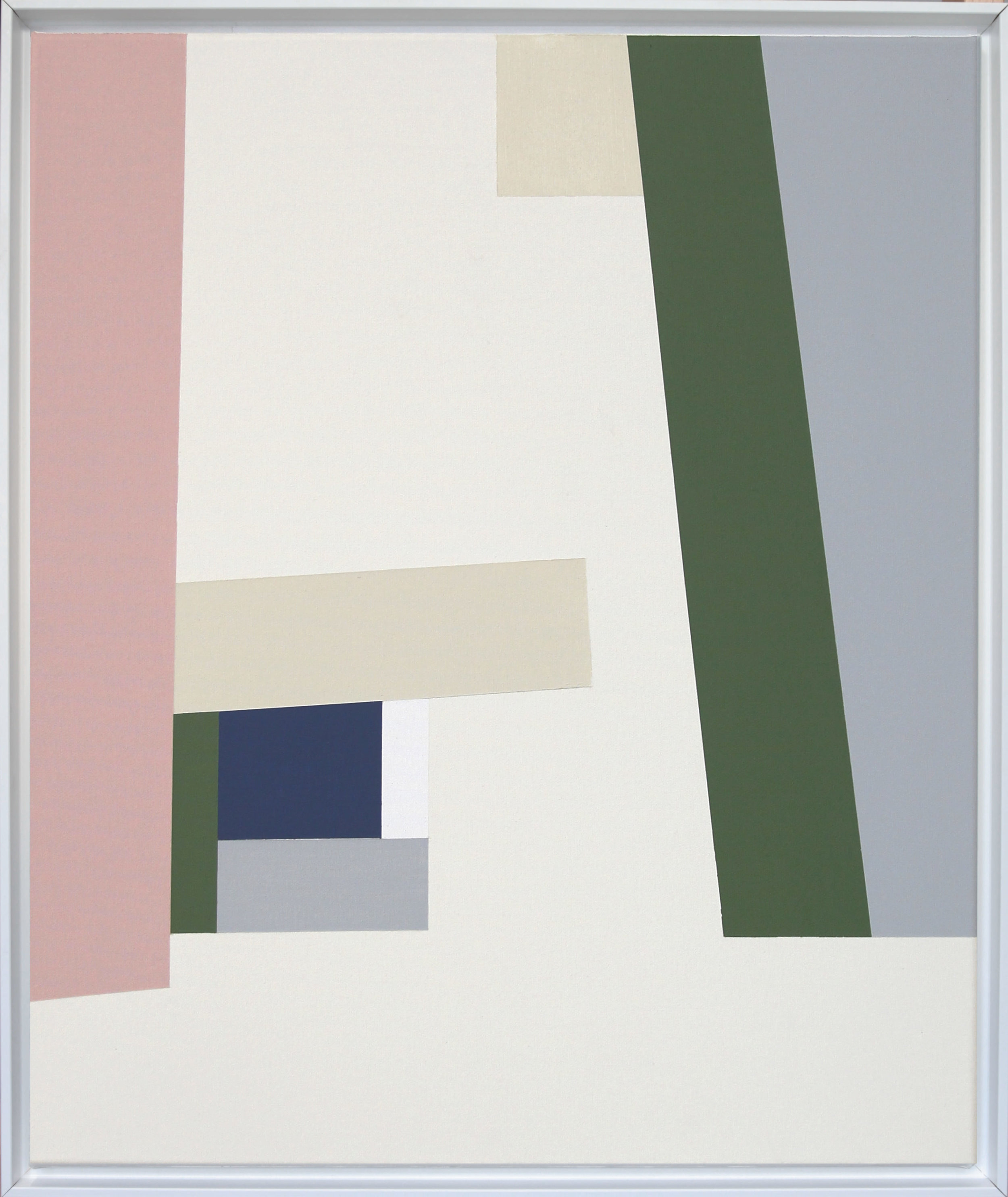 Simplicity Of Art S1, Acrylic on Canvas, 2018