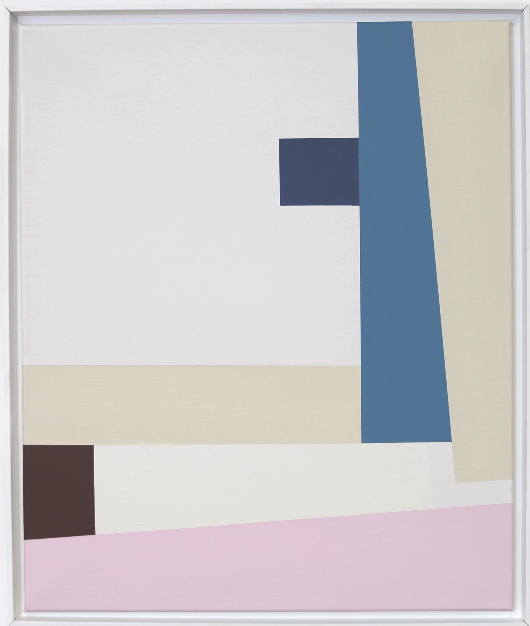 Simplicity Of Art S2, Acrylic on Canvas, 2018