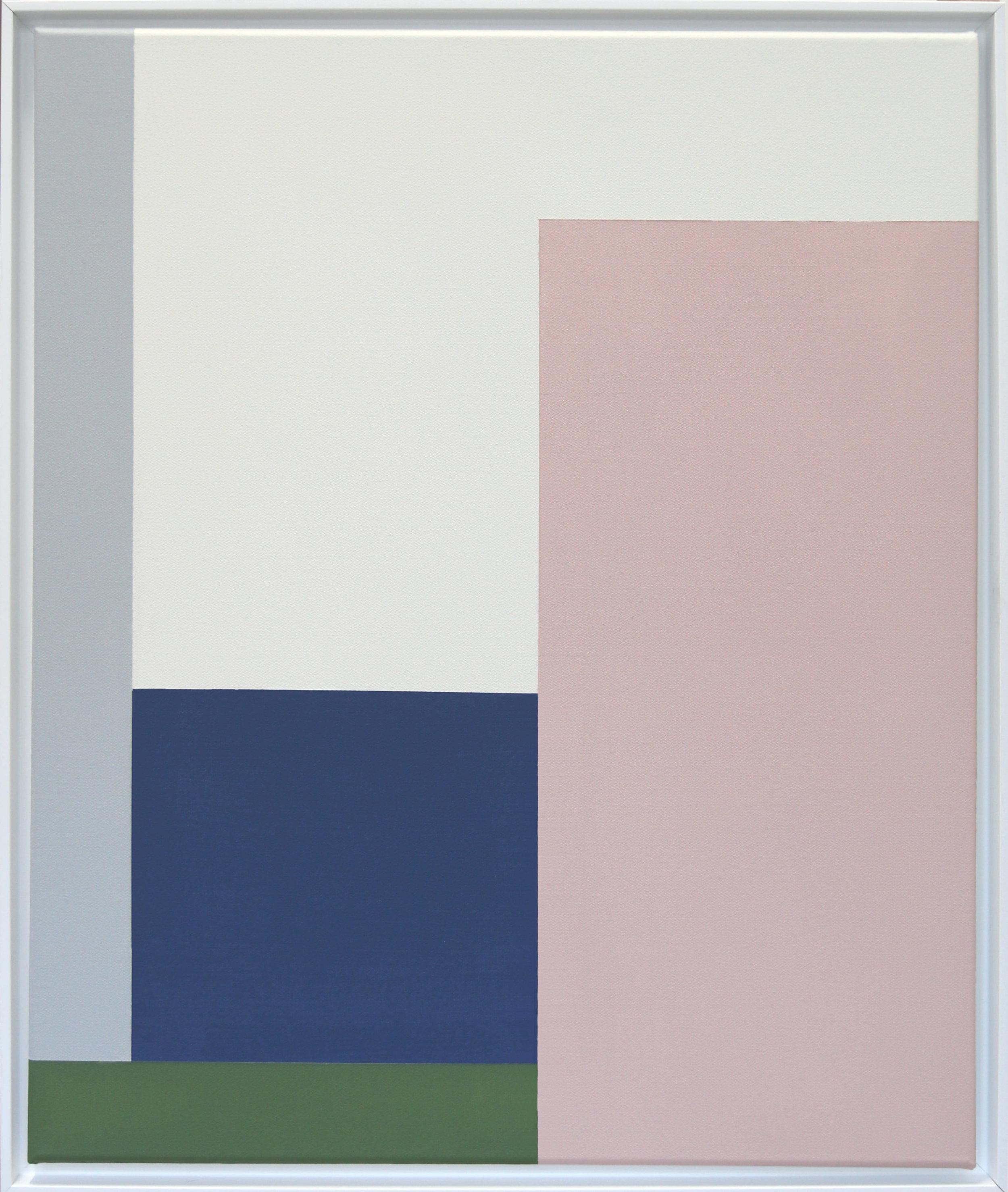 Simplicity Of Art S3, Acrylic on Canvas, 2018
