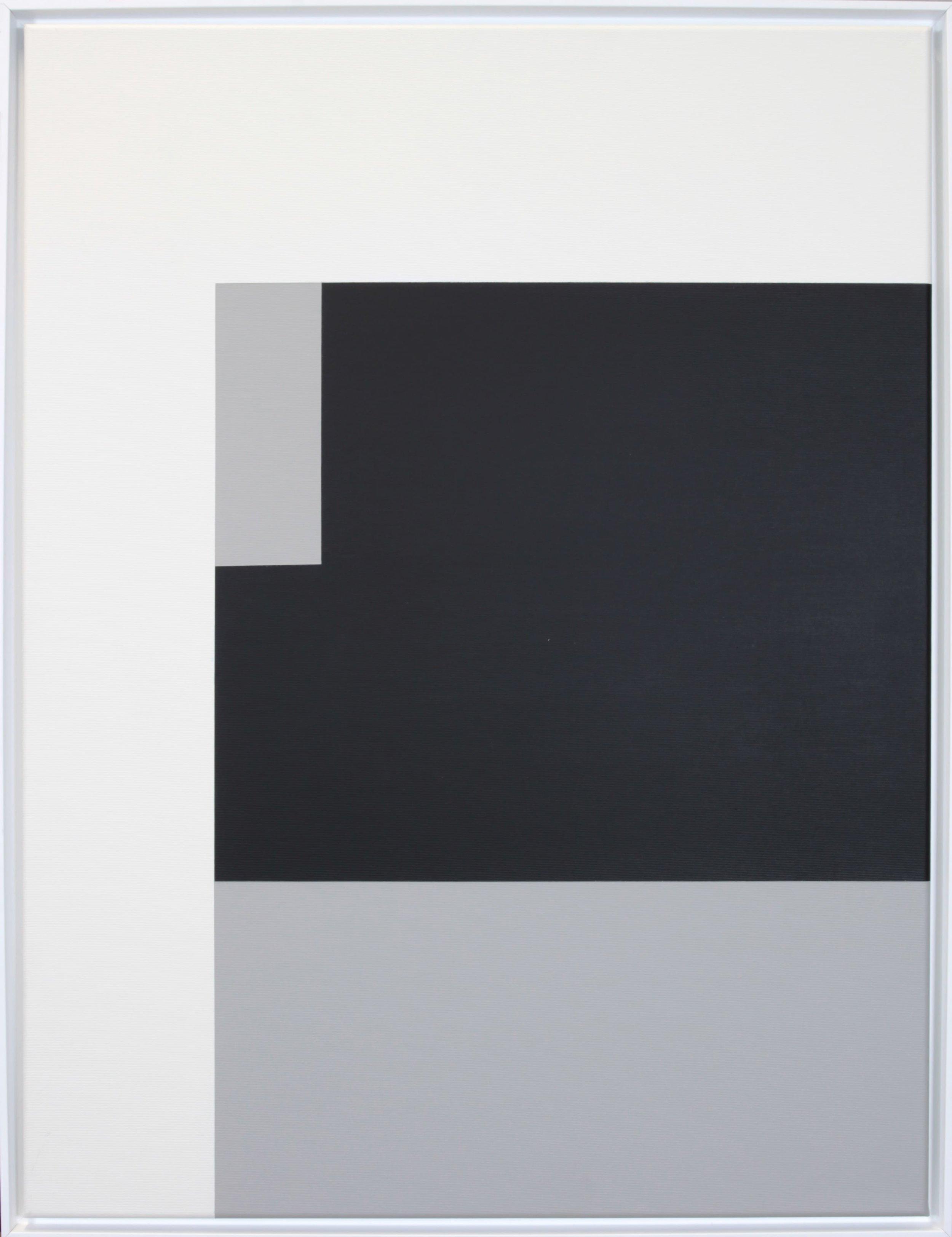 Simplicity Of Art S5, Acrylic on Canvas, 2018