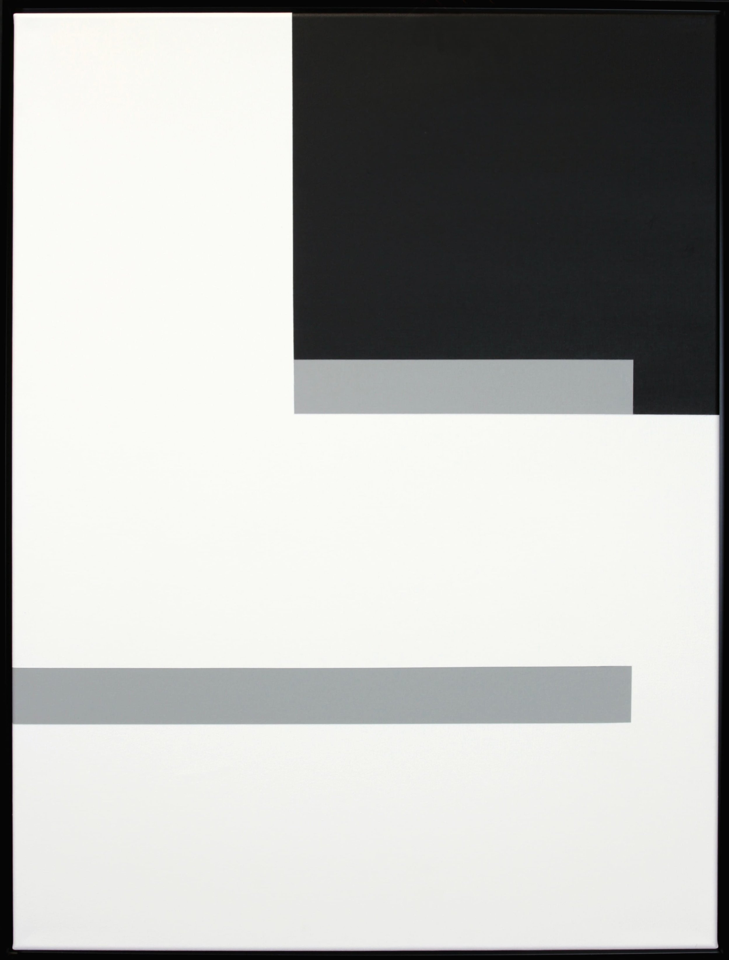 Simplicity Of Art S8, Acrylic on Canvas, 2018