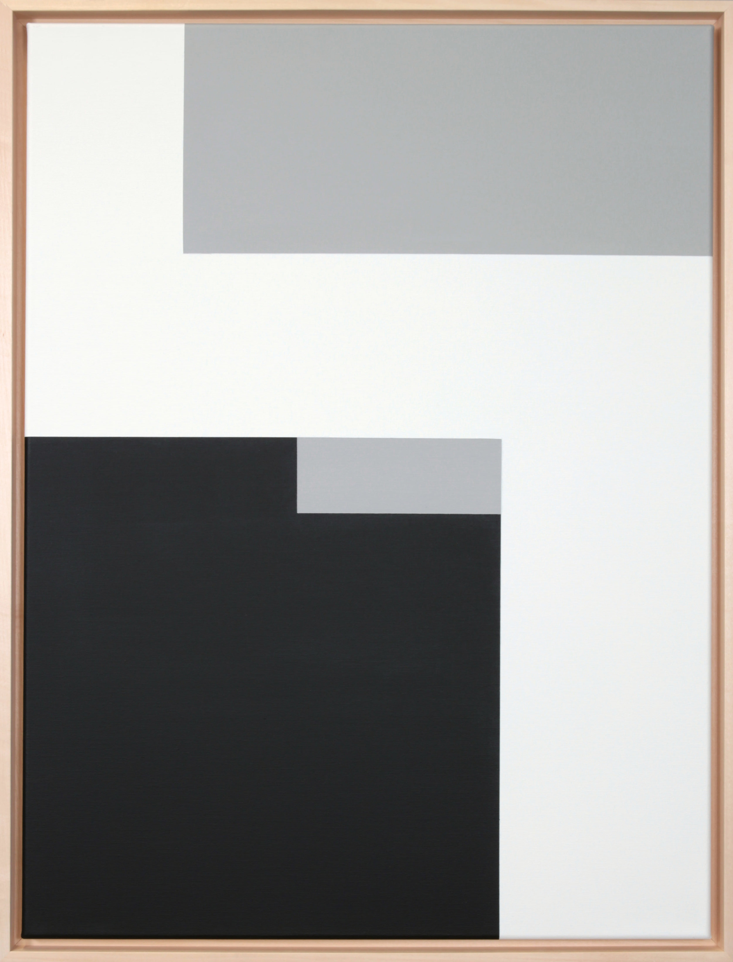 Simplicity Of Art S7, Acrylic on Canvas, 2018