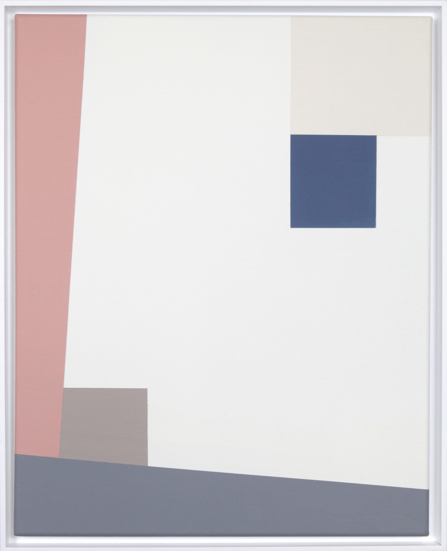 Simplicity Of Art S19, Acrylic on Canvas, 2019