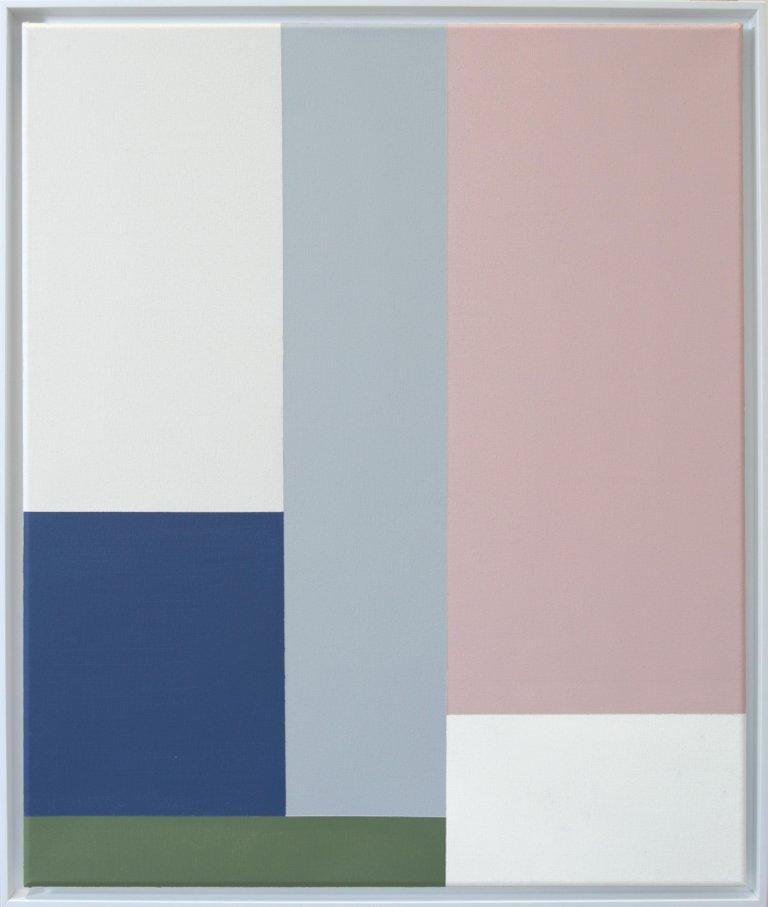 Simplicity Of Art S4, Acrylic on Canvas, 2018