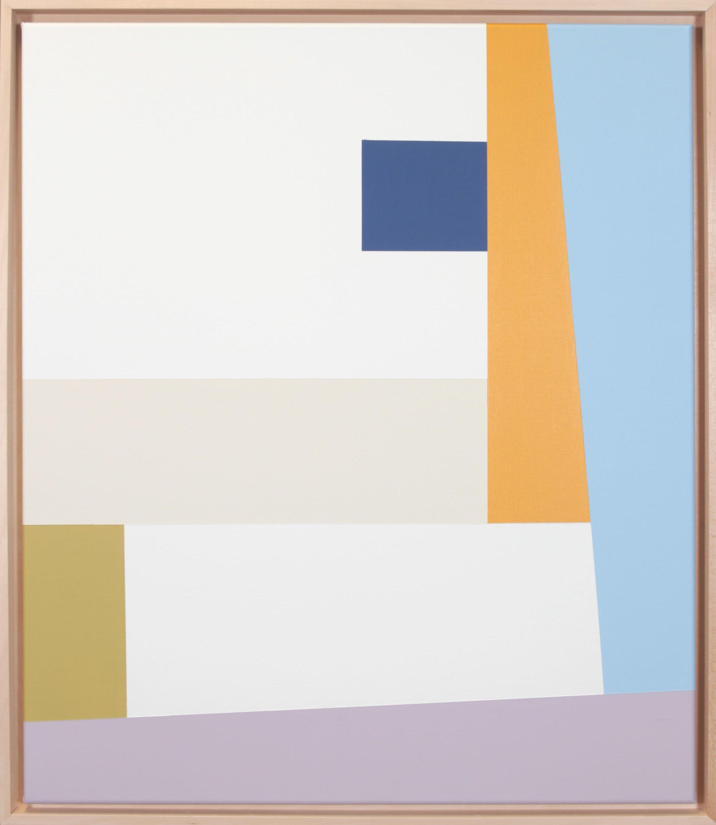 Simplicity Of Art S8, Acrylic on Canvas, 2019