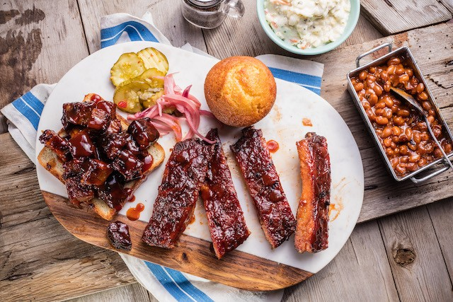Hey, ya gotta eat right? Why not visit us and enjoy every last bite? #FamousDavesBBQ #FamousDavesQue #FamousDaves #TheLegendaryFamousDaves #BBQ #Que #FamousFood #Food #FoodPhotography #FoodForFoodies #BBQFoodies #BBQNoms