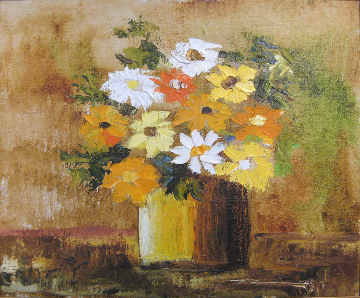 Barnes, KC - Floral Still Life