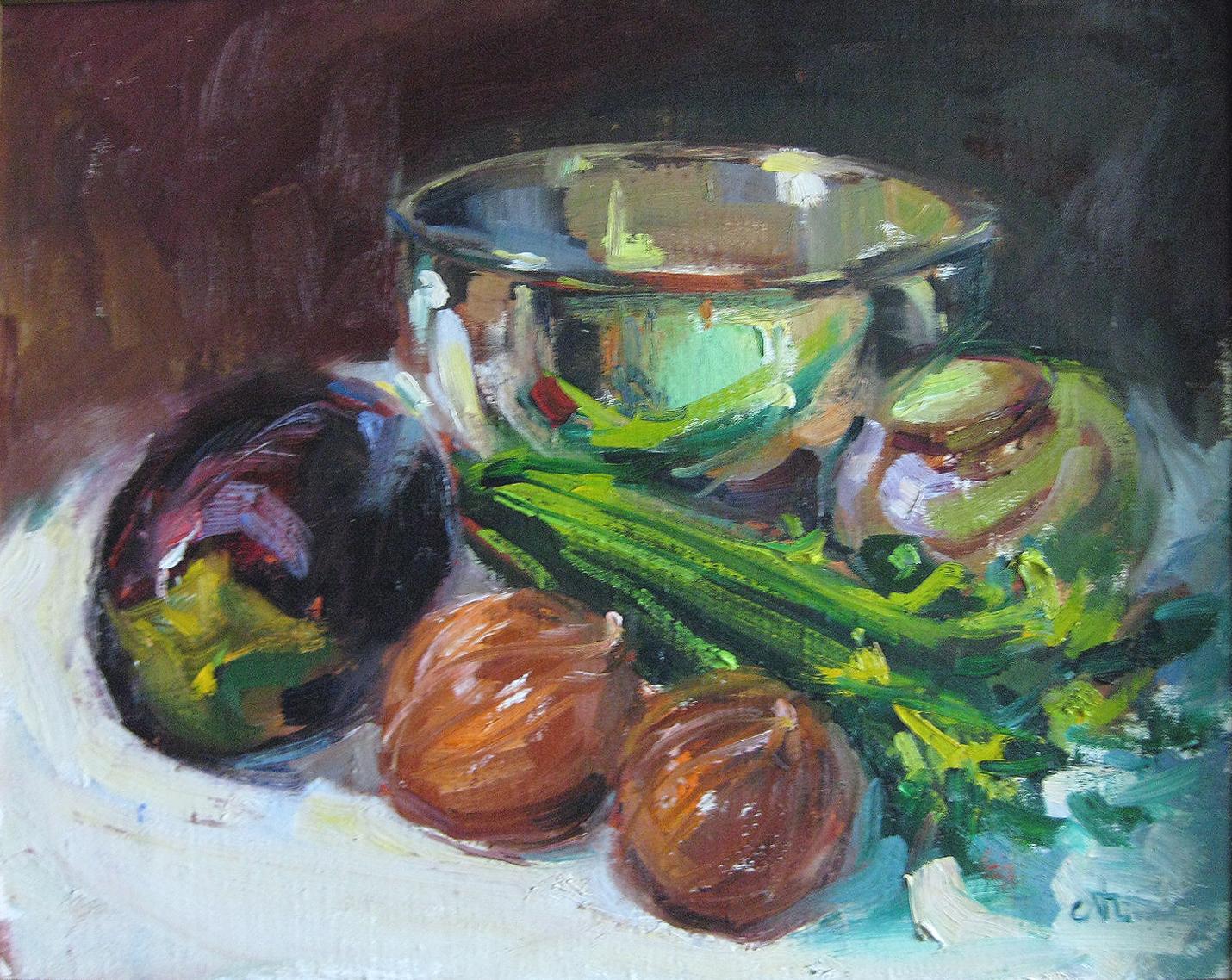 Algiminas, Al - Fruit Bowl and Celery