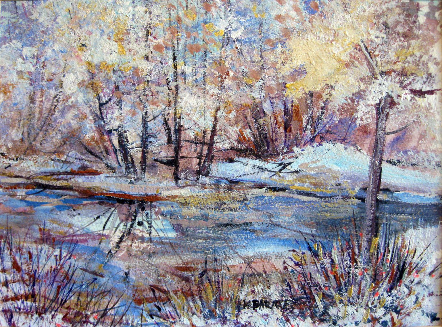 Barnes, KC - Winter Scene