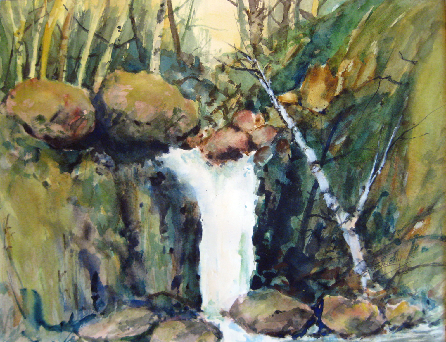 Connolly, Frank - Waterfall
