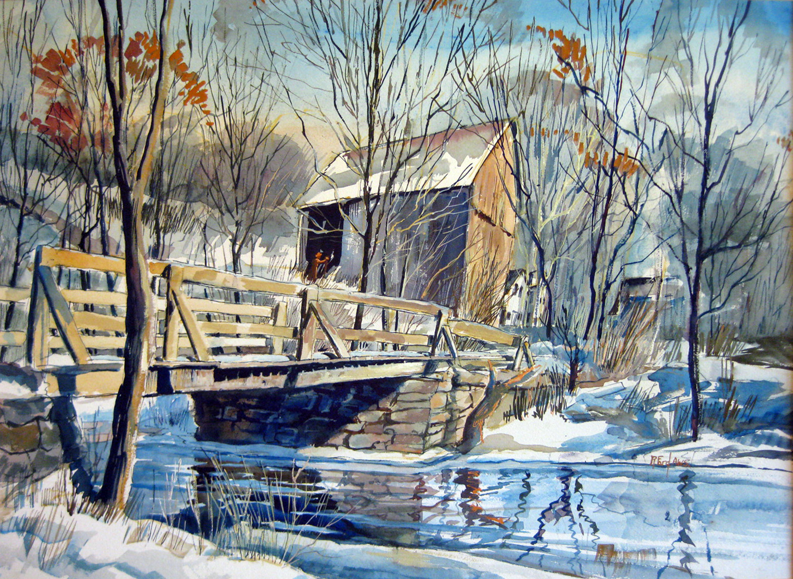 Ford, Ruth VanSickel - Early Winter, Connecticut