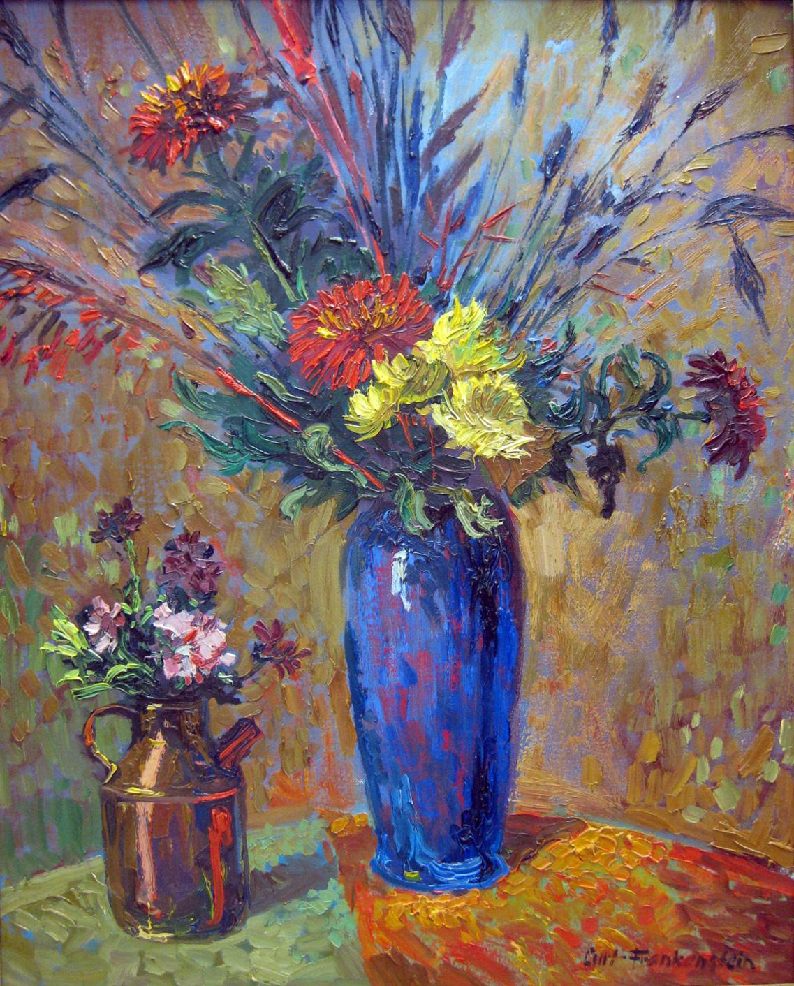Frankenstein, Curt - Blue Chrysanthemums