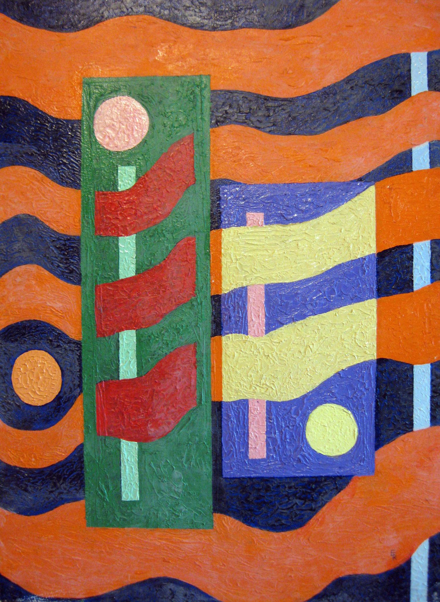 Kloubec, Edward F.- New Art- Sunscape