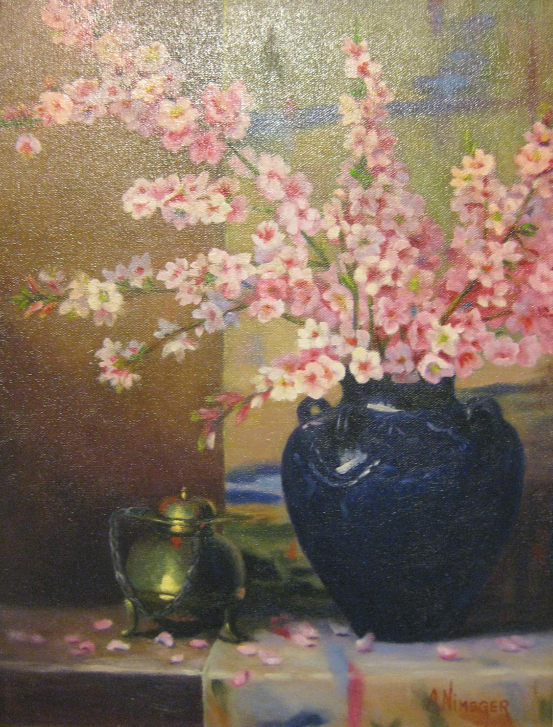 Nimsger, Antoinette - Peach Blossoms
