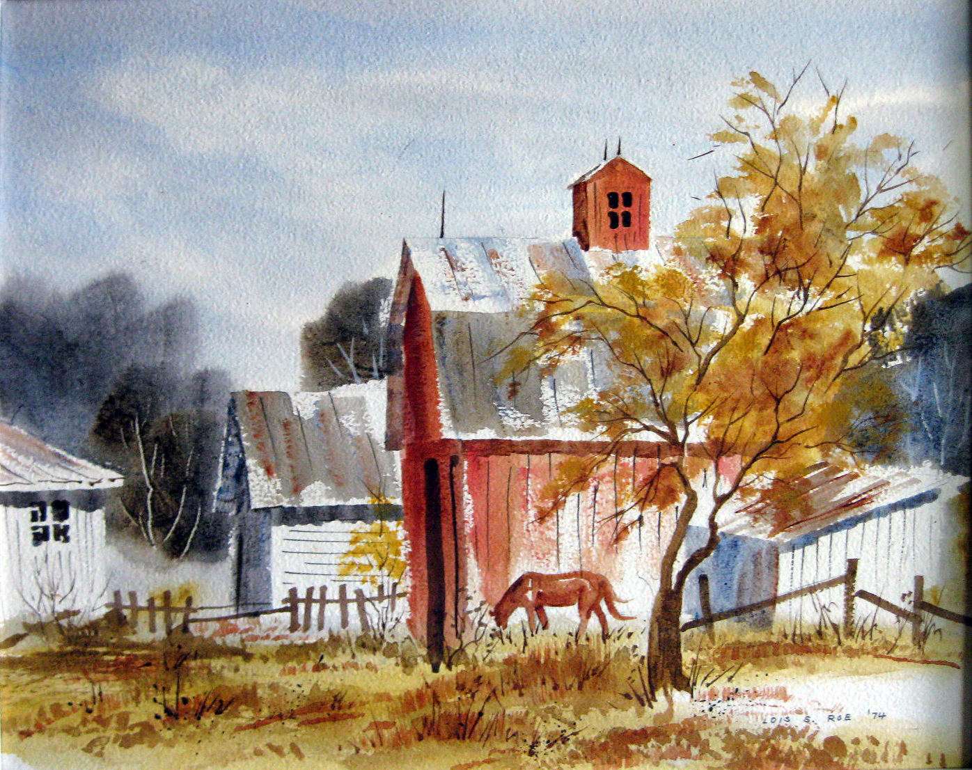 Roe, Lois S. - Autumn Pature