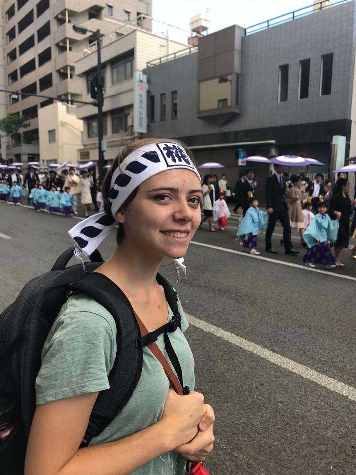 Audrey in Japan