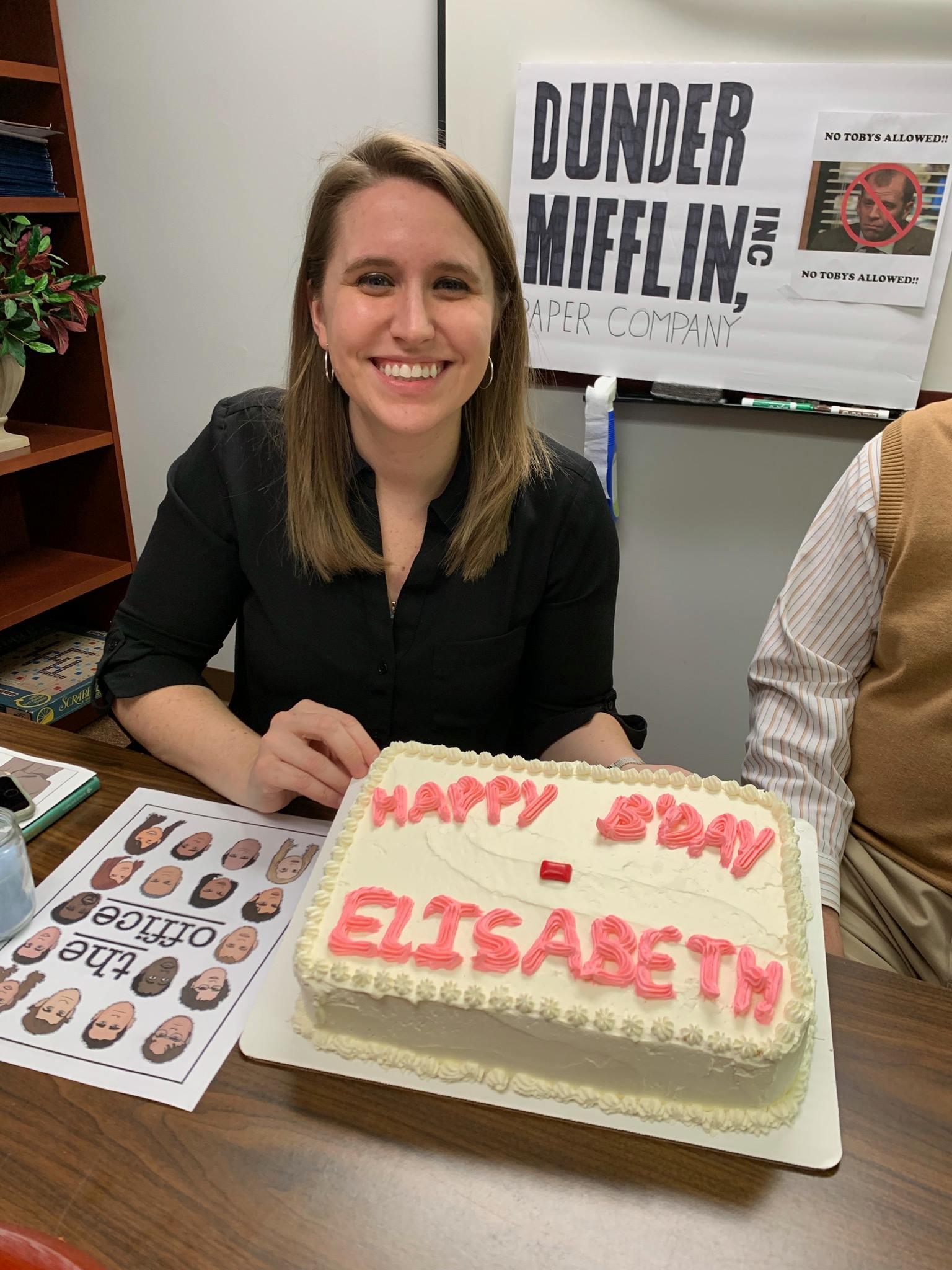 Elizabeth Birthday 2019 - The Office Theme
