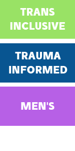 Trans inclusive, trauma informed, men's