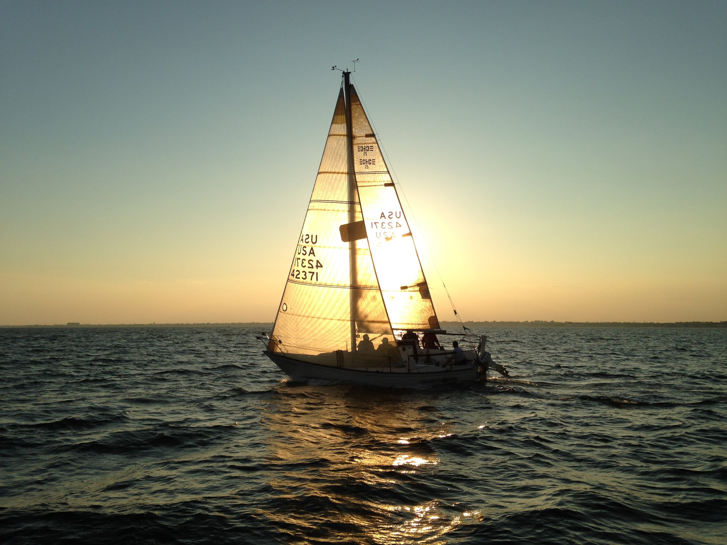 Sailing lessons at Half Term