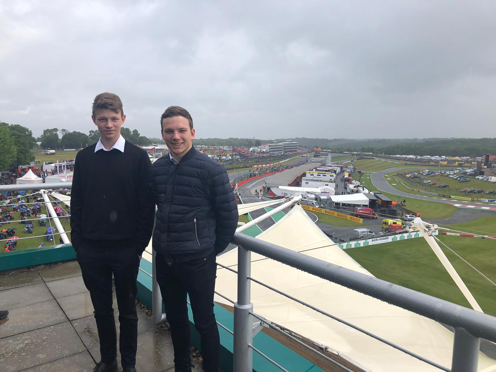 On A Rewards Day, They Can Even Take Their Best Friend!  How about this trip to the world famous racing track to experience some fine dinning and some great racing!  Everyone had a fantastic time.. Well done lads!