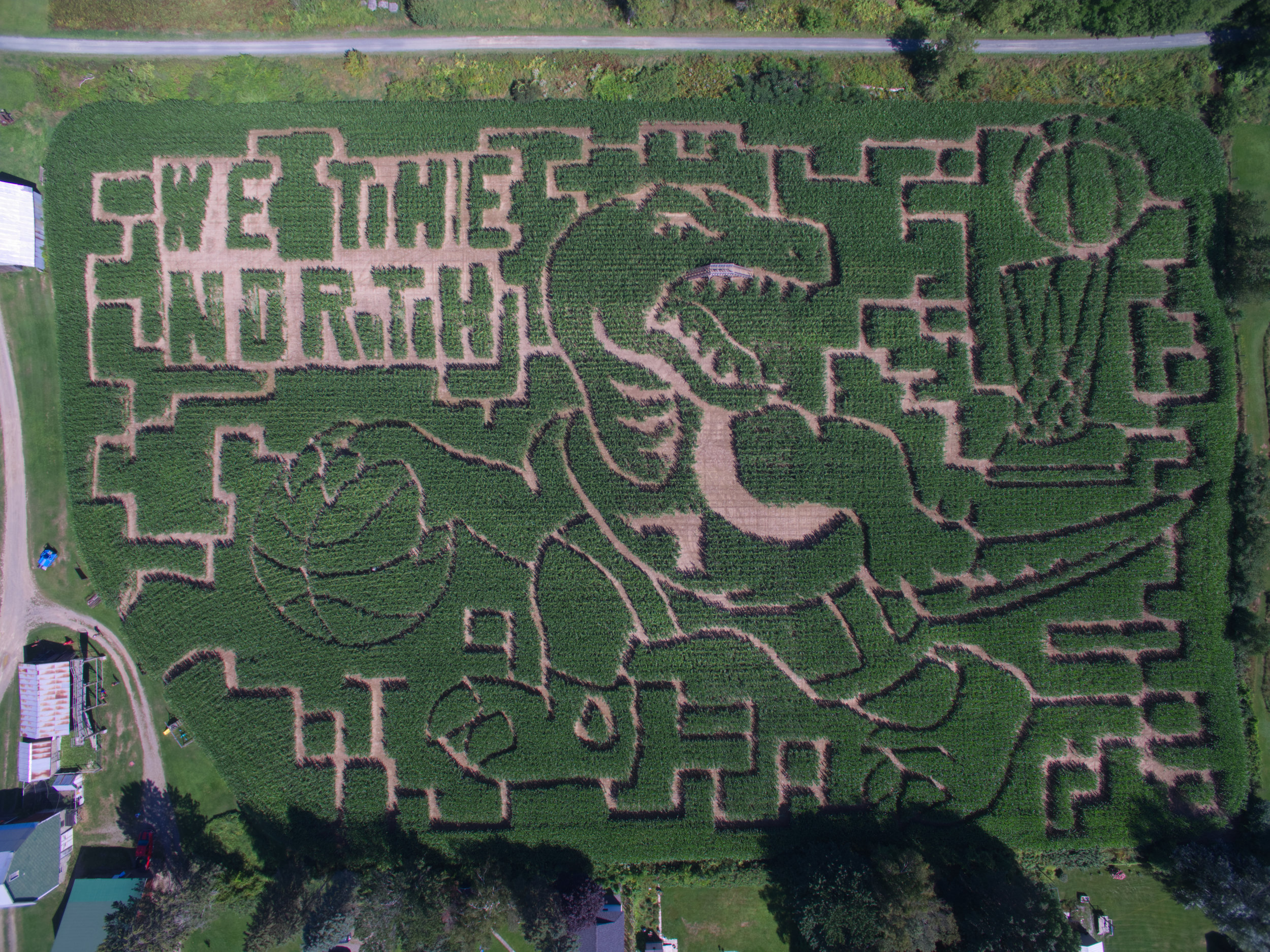 Canada's Most Iconic Corn Maze    Learn More