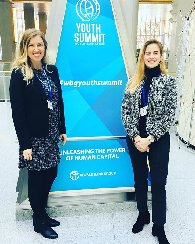 "@bitaetech at the World Bank Youth Summit 2018 ""Unleashing Human Capital"" - pitching tomorrow!💪🏽 #wbgyouthsummit"