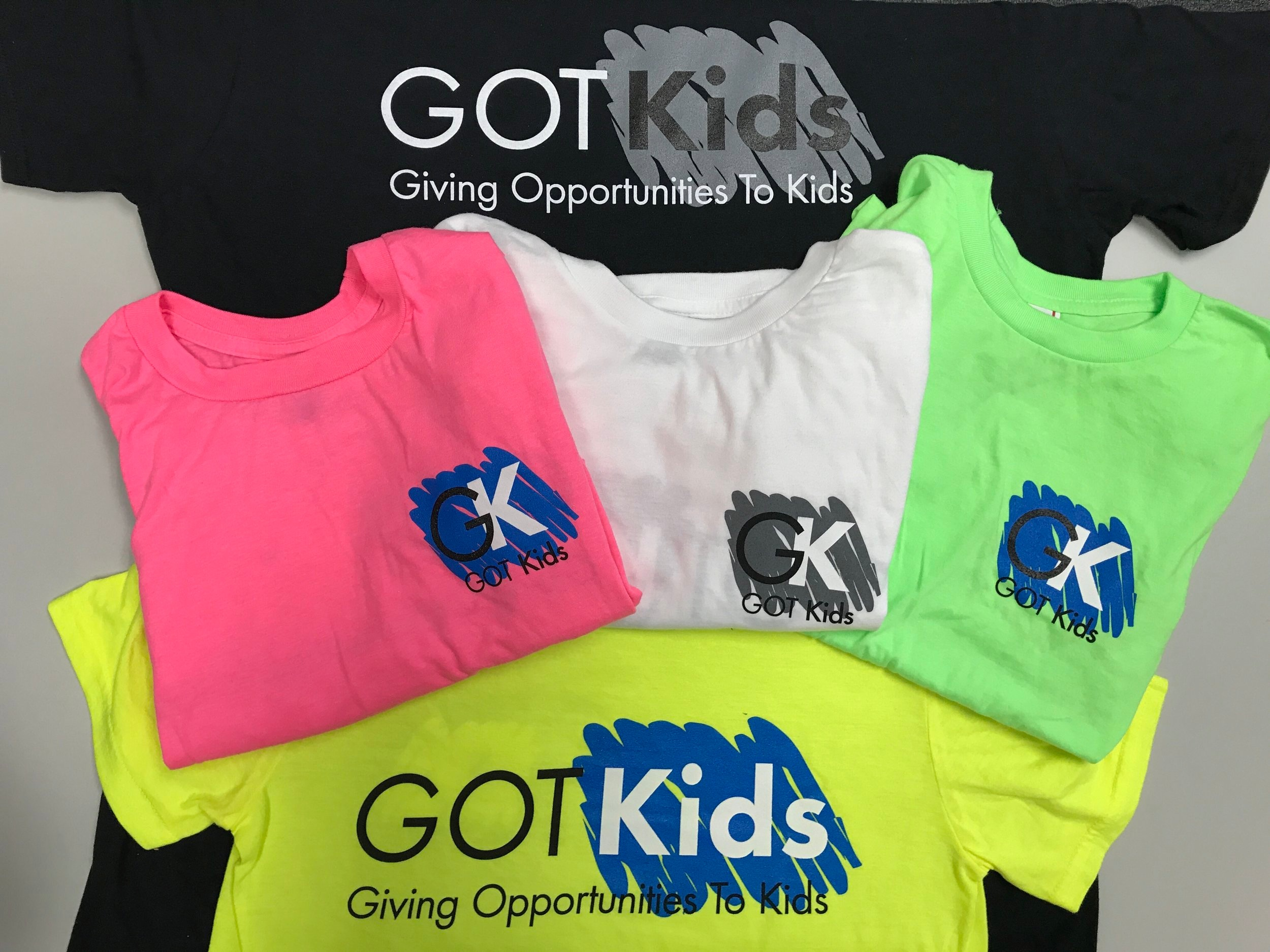 Buy One, Give One - When you purchase a GOT Kids t-shirt, an item of clothing is given to a child in need, creating a WIN/WIN.