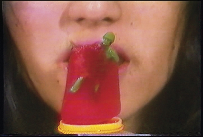 Gloria Camiruaga (Chile 1941-2006 Chile). Popsicles 1982-84. Video, colour, sound: 6:00 min
